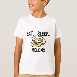 T-shirt Mangez les MELONS de sommeil