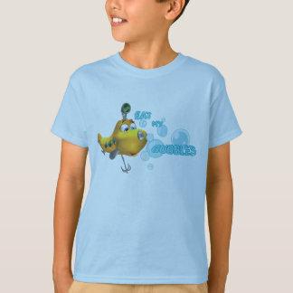 T-shirt Mangez mes bulles !
