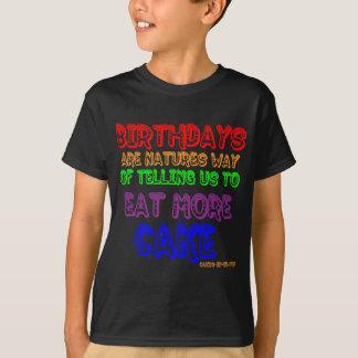 T-shirt Mangez plus de gâteau !