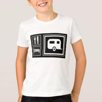 T-shirt Mangez. Sommeil. Rv !