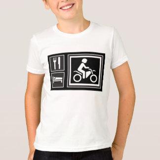 T-shirt Mangez. Sommeil. TOUR !