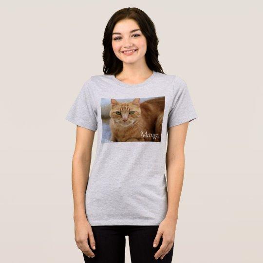 T-shirt Mangue - la pièce en t des femmes Relaxed
