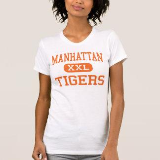 T-shirt Manhattan - tigres - haute - Manhattan Montana