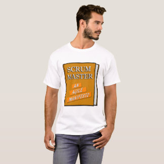 T-shirt Manifeste agile principal de bousculade