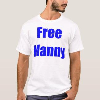 T-shirt Manny libre