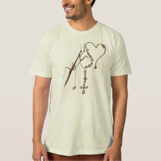 T-shirt Mante attaquante priant avec tout il a !