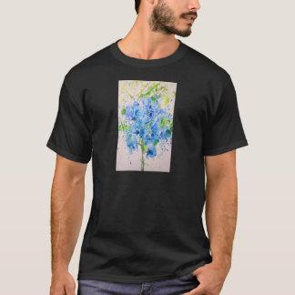T-shirt mante et fleurs de prière