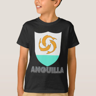 T-shirt Manteau d'Anguilla des bras