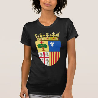 T-shirt Manteau d'Aragon des bras (Espagne)