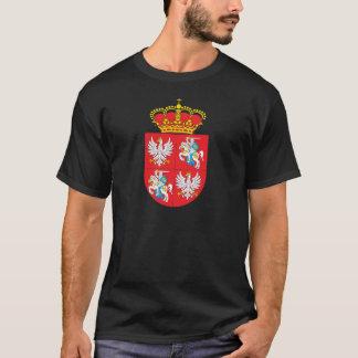 T-shirt Manteau de Commonwealth des bras lithuanien
