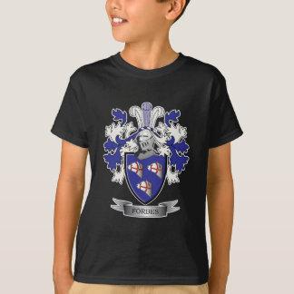 T-shirt Manteau de crête de famille de Forbes des bras