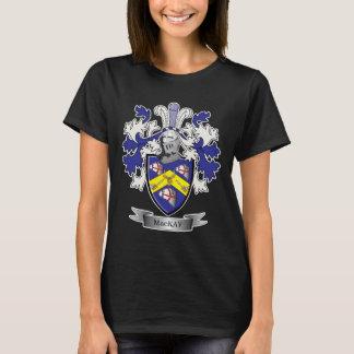 T-shirt Manteau de crête de famille de MacKay des bras
