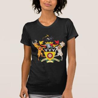 T-shirt Manteau de Derbyshire des bras