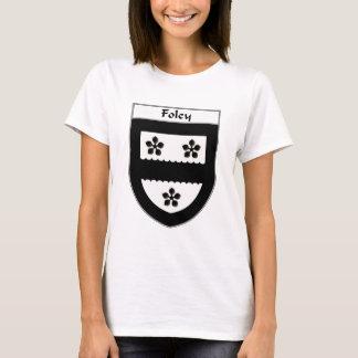 T-shirt Manteau de Foley des bras/de crête de famille