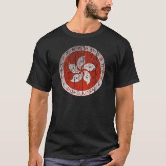 T-shirt Manteau de Hong Kong des bras