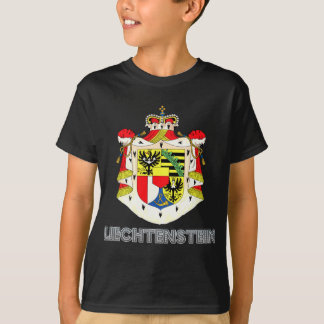 T-shirt Manteau de la Liechtenstein des bras