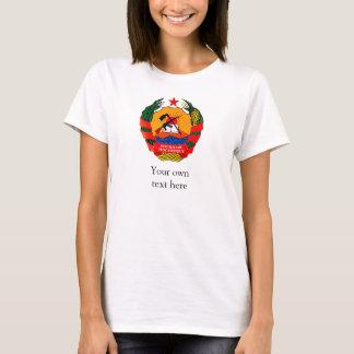 T-shirt Manteau de la Mozambique des bras