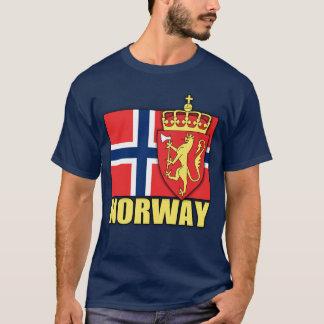 T-shirt Manteau de la Norvège des bras