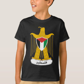 T-shirt Manteau de la Palestine des bras