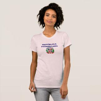 T-shirt Manteau de la République Dominicaine de chemise de