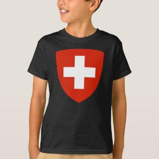 T-shirt Manteau de la Suisse des bras