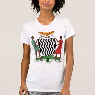 T-shirt Manteau de la Zambie de détail de bras