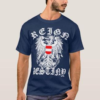 T-shirt Manteau de l'Autriche des bras vintage