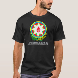 T-shirt Manteau de l'Azerbaïdjan des bras