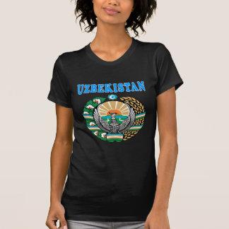 T-shirt Manteau de l'Ouzbékistan des conceptions de bras