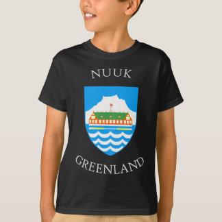 T-shirt Manteau de Nuuk des bras