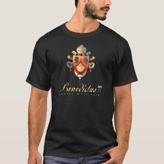 T-shirt Manteau de pape Benedicts de chemise de bras