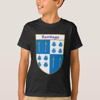 T-shirt Manteau de Santiago des bras/de crête de famille