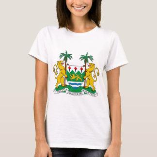 T-shirt Manteau de Sierra Leone des bras