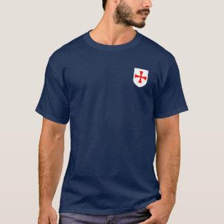 T-shirt Manteau de Templar de chevaliers de chemise de