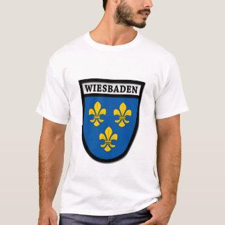 T-shirt Manteau de Wiesbaden des bras (Wappen) 0010