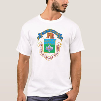 T-shirt Manteau de Winnipeg des bras