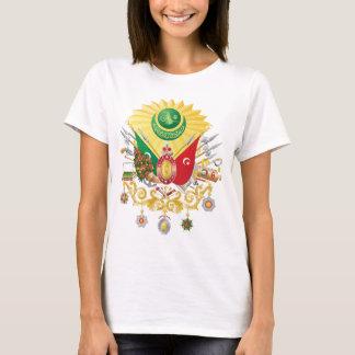 T-shirt Manteau d'empire de tabouret des bras