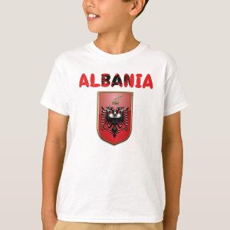 T-shirt Manteau des bras albanais
