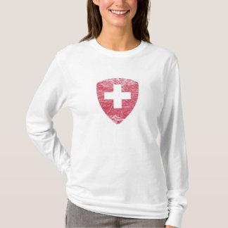 T-shirt Manteau des bras de la Suisse
