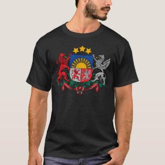 T-shirt Manteau des bras des ģerbonis de la Lettonie - du