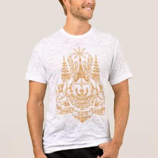 T-shirt Manteau du Cambodge de détail de bras