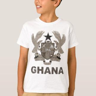T-shirt Manteau du Ghana des bras vintage