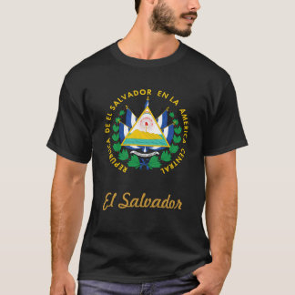 T-shirt Manteau du Salvador des bras