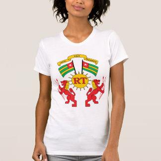 T-shirt Manteau du Togo de détail de bras