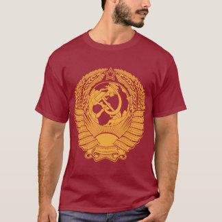 T-shirt Manteau d'Union Soviétique de Russe vintage de