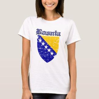 T-shirt Manteau grunge de la Bosnie des conceptions de