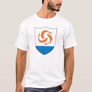 T-shirt Manteau officiel d'Anguilla de symbole