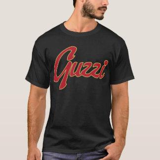 T-shirt Manuscrit classique de point de Guzzi