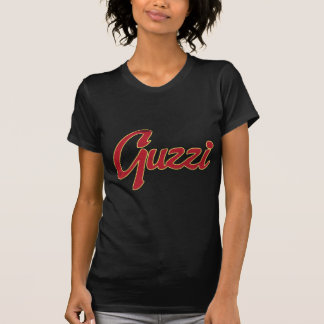 T-shirt Manuscrit classique de point de Guzzi (regard