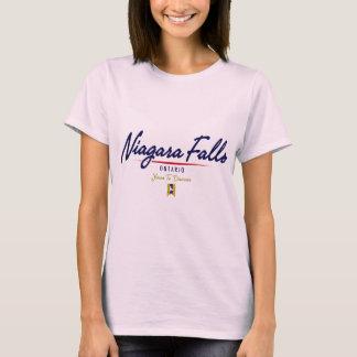 T-shirt Manuscrit de chutes du Niagara